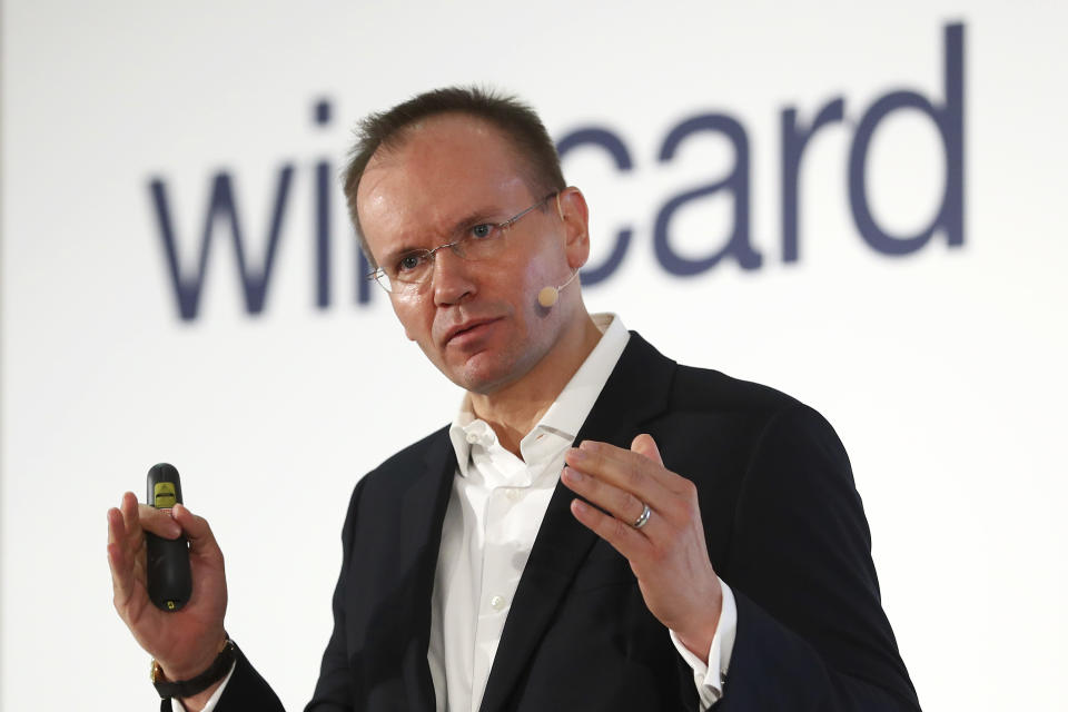 Markus Braun, CEO of financial services company wirecard