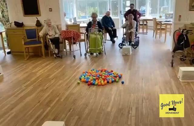 "<p>Many care homes have paused on allowing visitors - including family - to see their elderly residents to keep them safe and protected during the Covid-19 outbreak.</p><p>At this care home in Maesteg, south Wales, residents took part in a live Hungry Hippo game to provide them with some entertainment during quarantine. </p><p><a href=""https://www.instagram.com/p/B-BRNjigPca/"" rel=""nofollow noopener"" target=""_blank"" data-ylk=""slk:See the original post on Instagram"" class=""link rapid-noclick-resp"">See the original post on Instagram</a></p>"