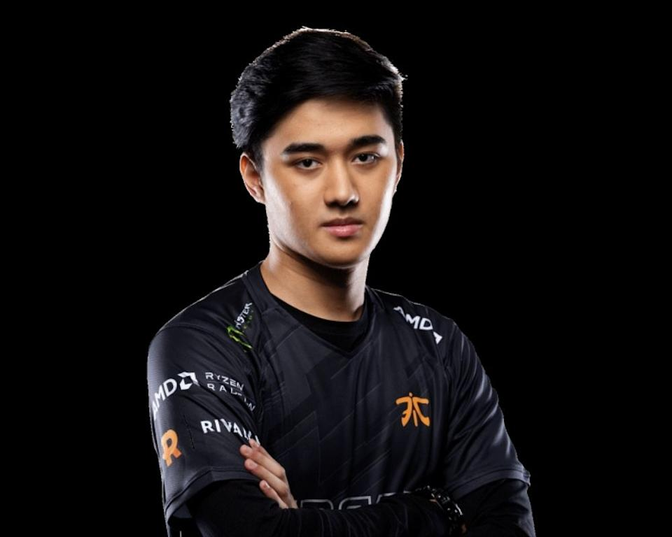"Abed Azel ""Abed"" Yusop. (Photo: Fnatic Twitter)"
