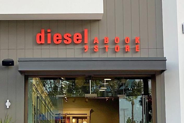 "<b>Photo: diesel, a book store/<a href=""https://yelp.com/biz_photos/diesel-a-book-store-san-diego?utm_campaign=131af1f0-a5ae-4a33-8e8e-46999f9a0eb4%2Cfa5775d9-968e-431f-a314-475d2fbad6a8&utm_medium=81024472-a80c-4266-a0e5-a3bf8775daa7"" rel=""nofollow noopener"" target=""_blank"" data-ylk=""slk:Yelp"" class=""link rapid-noclick-resp"">Yelp</a></b>"
