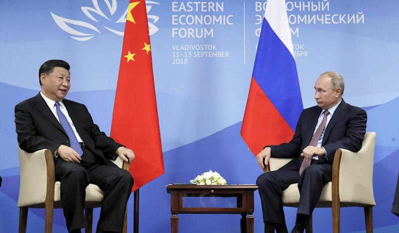 China's Xi Jinping, Russia's Vladimir Putin agree to boost ties amid growing US unilateralism