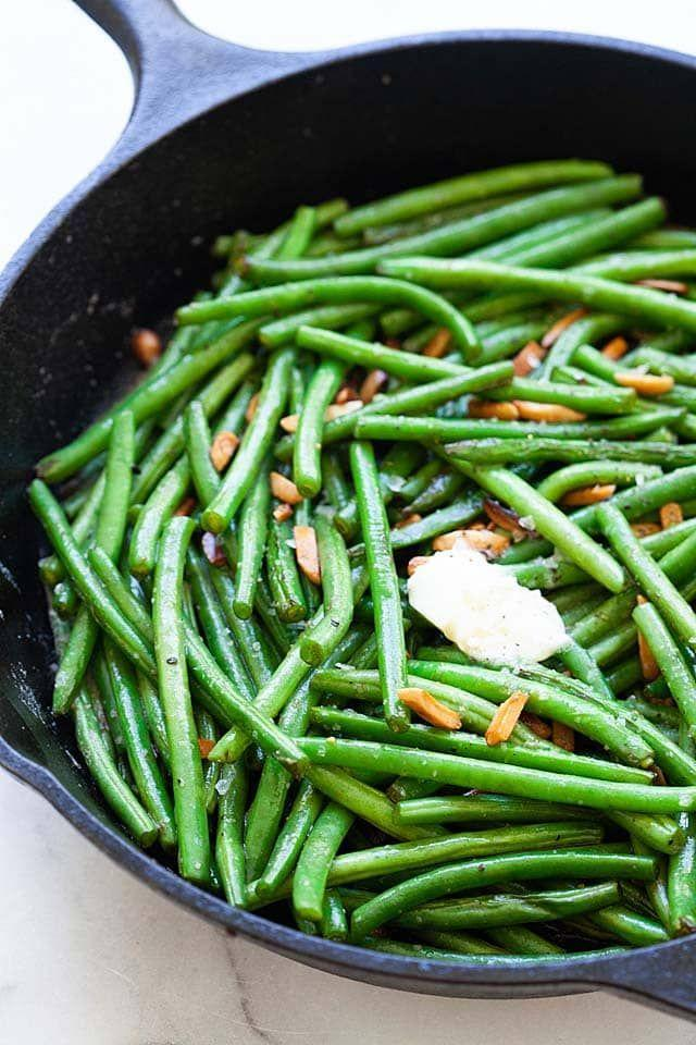 "<p>Anyone tired of green bean casserole? Try these buttery, sautéed string beans for a delicious alternative.</p><p><strong>Get the recipe at <a href=""https://rasamalaysia.com/green-beans/"" rel=""nofollow noopener"" target=""_blank"" data-ylk=""slk:Rasa Malaysia"" class=""link rapid-noclick-resp"">Rasa Malaysia</a>.</strong></p><p><strong><a class=""link rapid-noclick-resp"" href=""https://go.redirectingat.com?id=74968X1596630&url=https%3A%2F%2Fwww.walmart.com%2Fbrowse%2Fhome%2Ffood-prep%2F4044_623679_133020_642199%3Ffacet%3Dbrand%253AThe%2BPioneer%2BWoman&sref=https%3A%2F%2Fwww.thepioneerwoman.com%2Ffood-cooking%2Fmeals-menus%2Fg33251890%2Fbest-thanksgiving-sides%2F"" rel=""nofollow noopener"" target=""_blank"" data-ylk=""slk:SHOP FOOD PREP TOOLS"">SHOP FOOD PREP TOOLS</a> <br></strong></p>"