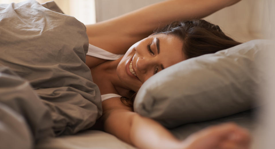 Researchers have found that getting an extra couple of hours' sleep on Saturday and Sunday could boost mental health. (Getty Images)