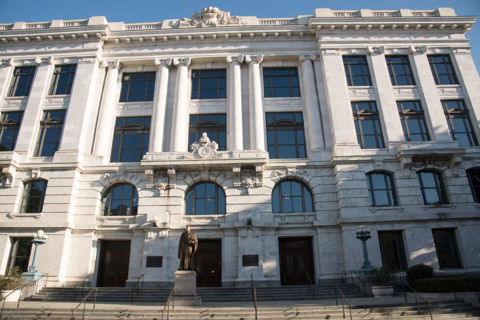 Louisiana Supreme Court Building in New Orleans. (Education Images/Universal Images Group via Getty Images)