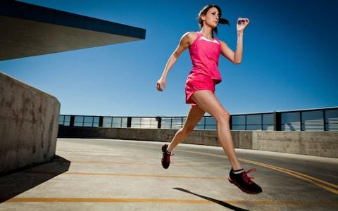 The more exercise you do, the more calories you'll burn  - Credit: Alamy