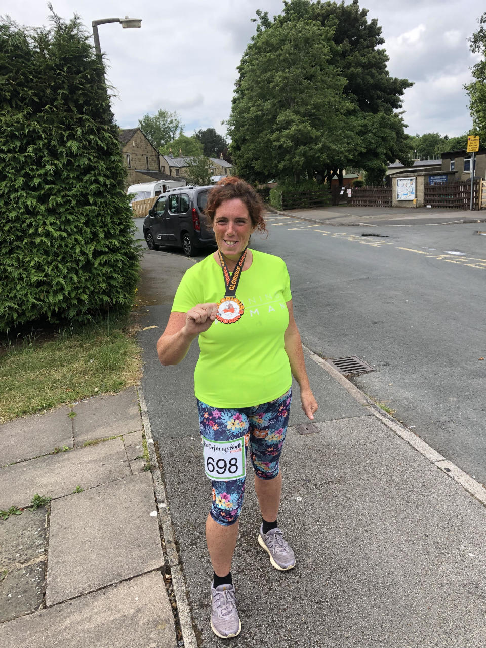 Helen Foster wants to encourage people to pull on their trainers and get out there. (Helen Foster)