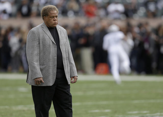 The Oakland Raiders have reportedly fired general manager Reggie McKenzie. (AP)