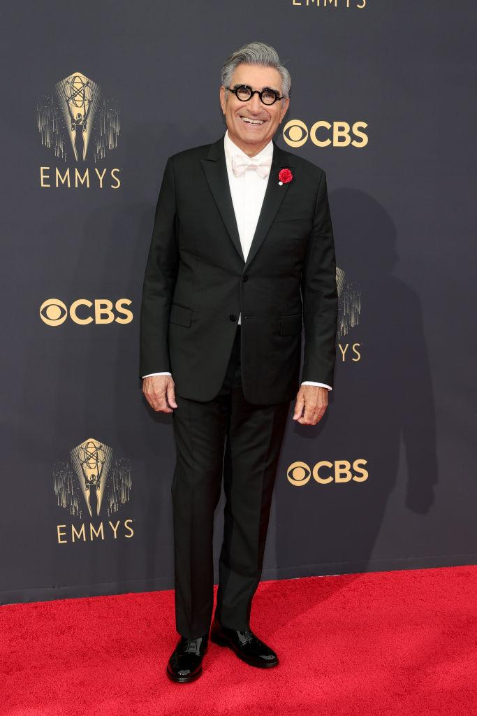 Eugene Levy attends the 73rd Primetime Emmy Awards on Sept. 19 at L.A. LIVE in Los Angeles. (Photo: Rich Fury/Getty Images)
