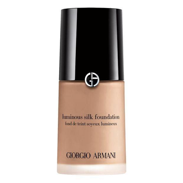 <p>The <span>Giorgio Armani Luminous Silk Foundation</span> ($64) is a lightweight liquid foundation that comes in 40 shades. It has a weightless texture, despite excellent color pigmentation.</p>
