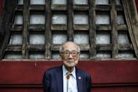 There are an estimated 136,700 survivors of the Hiroshima and Nagasaki attacks still alive, including 88-year-old Terumi Tanaka, who survived the Nagasaki bombing (AFP Photo/Behrouz MEHRI)