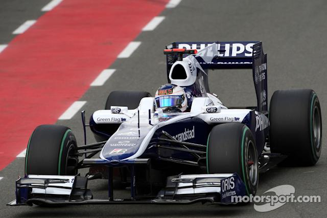 """2010: Williams, 10º no campeonato (47 pts) <span class=""""copyright"""">XPB Images</span>"""