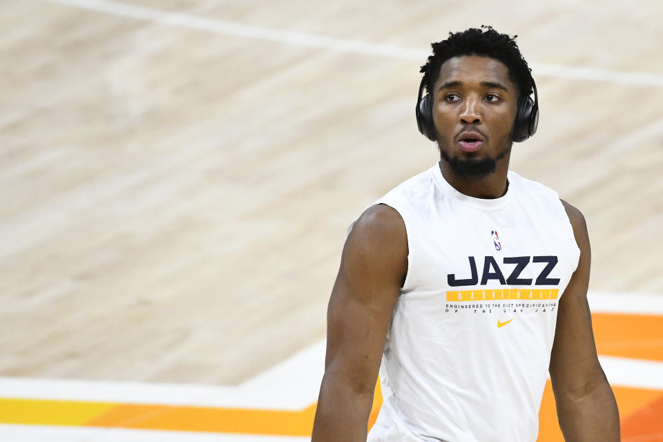 Donovan Mitchell of the Utah Jazz
