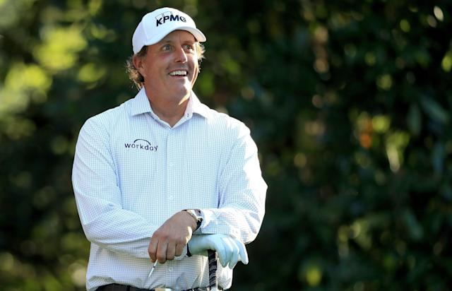 Speaking at the Waste Management Phoenix Open, Phil Mickelson let a dirty secret slip out of the bag.