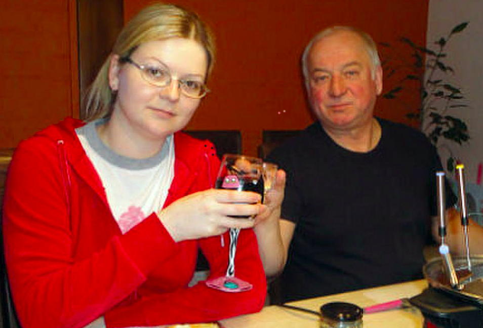 <em>Sergei Skripal and his daughter Yulia were found unconscious on a bench in Salisbury city centre (Rex)</em>