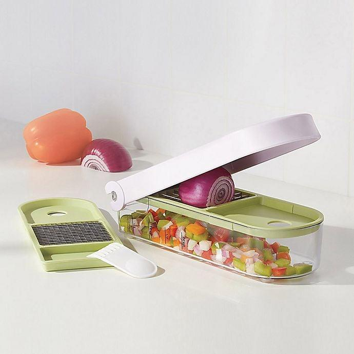 <p>Cut up vegetables quickly with the <span>Vidalia Chop Wizard</span> ($20).</p>