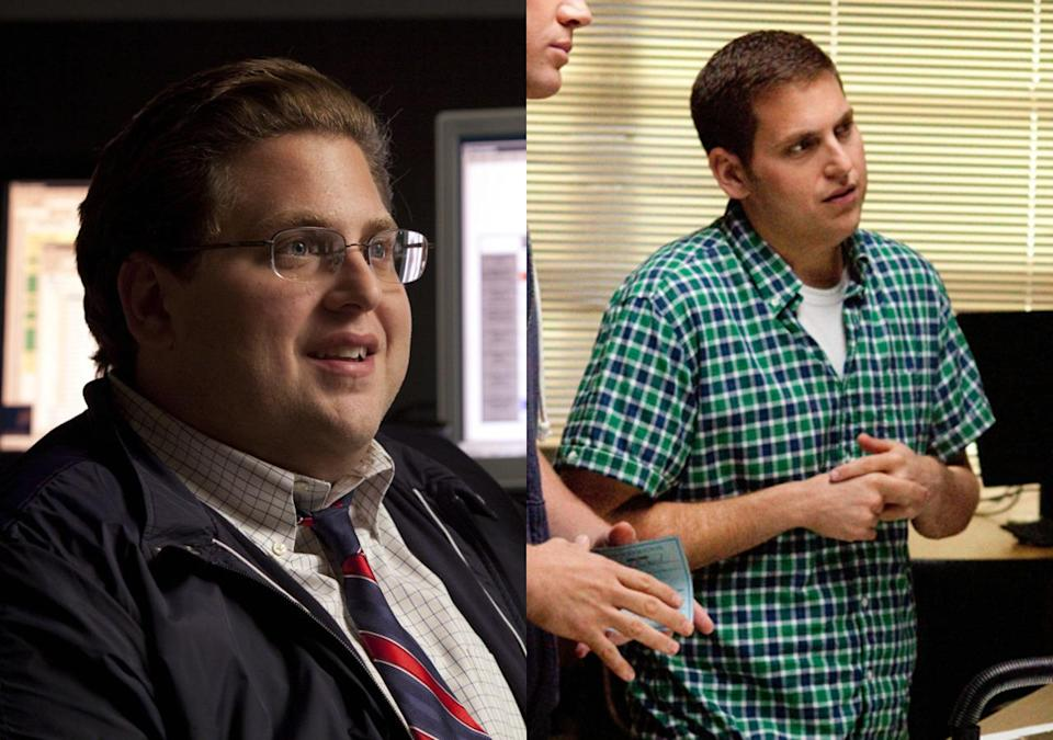 """<p>The 'Superbad' comic slimmed down to play an undercover cop in the smash hit comedy with help from a nutrionist. """"I just had a moment in my life where I said I wanted to become a man. And that means with my career that with my life, that means with my health.""""</p>"""