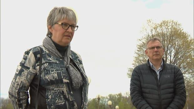 Johanne Lapointe and Bruno St-Onge say they still have difficulty sleeping, more than three years after their son's death.