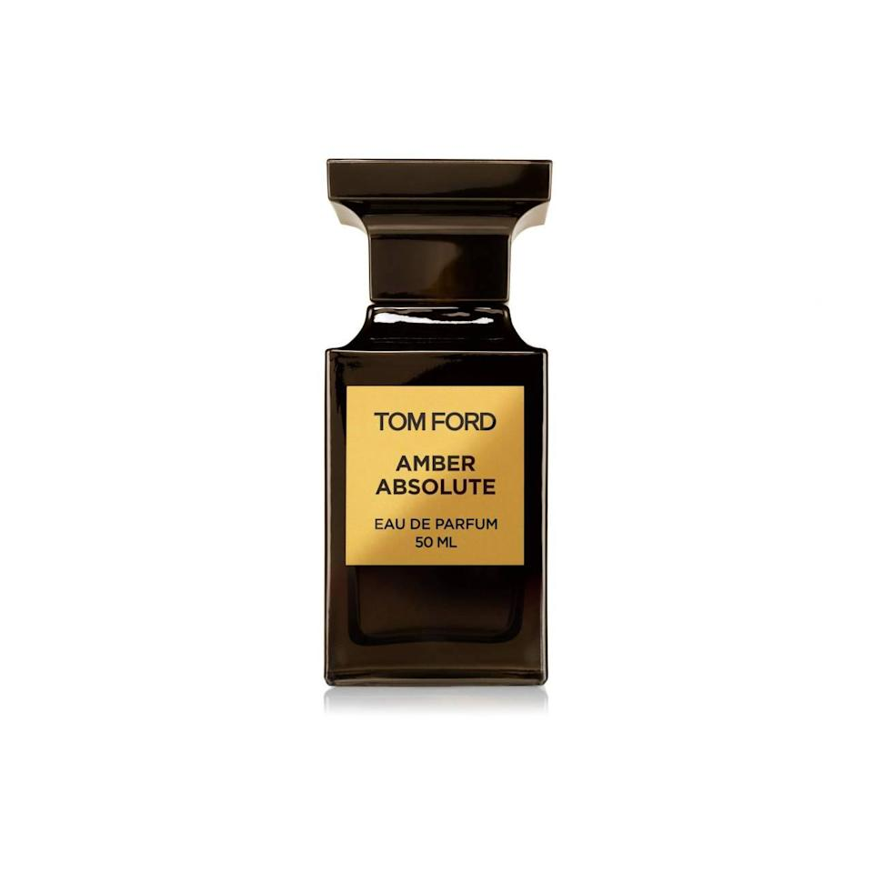 "<p>This unisex fragrance — everyone deserves to be Tom Ford-level sexy! — features amber, incense, vanilla, olibanum, labdanum and woody notes. Time to up the ante with a cozy winter scent anyone will love. <b><a href=""http://www.tomford.com/amber-absolute-edp/T44N.html?dwvar_T44N_color=OC#start=1"" rel=""nofollow noopener"" target=""_blank"" data-ylk=""slk:Tom Ford Amber Absolute Eau de Parfum"" class=""link rapid-noclick-resp"">Tom Ford Amber Absolute Eau de Parfum</a> ($220)</b></p>"