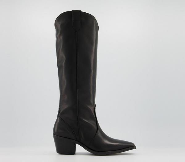 """<br><br><strong>Office</strong> Kansas Western Knee Boots, $, available at <a href=""""https://www.office.co.uk/view/product/office_catalog/2/4207100078"""" rel=""""nofollow noopener"""" target=""""_blank"""" data-ylk=""""slk:Office"""" class=""""link rapid-noclick-resp"""">Office</a>"""