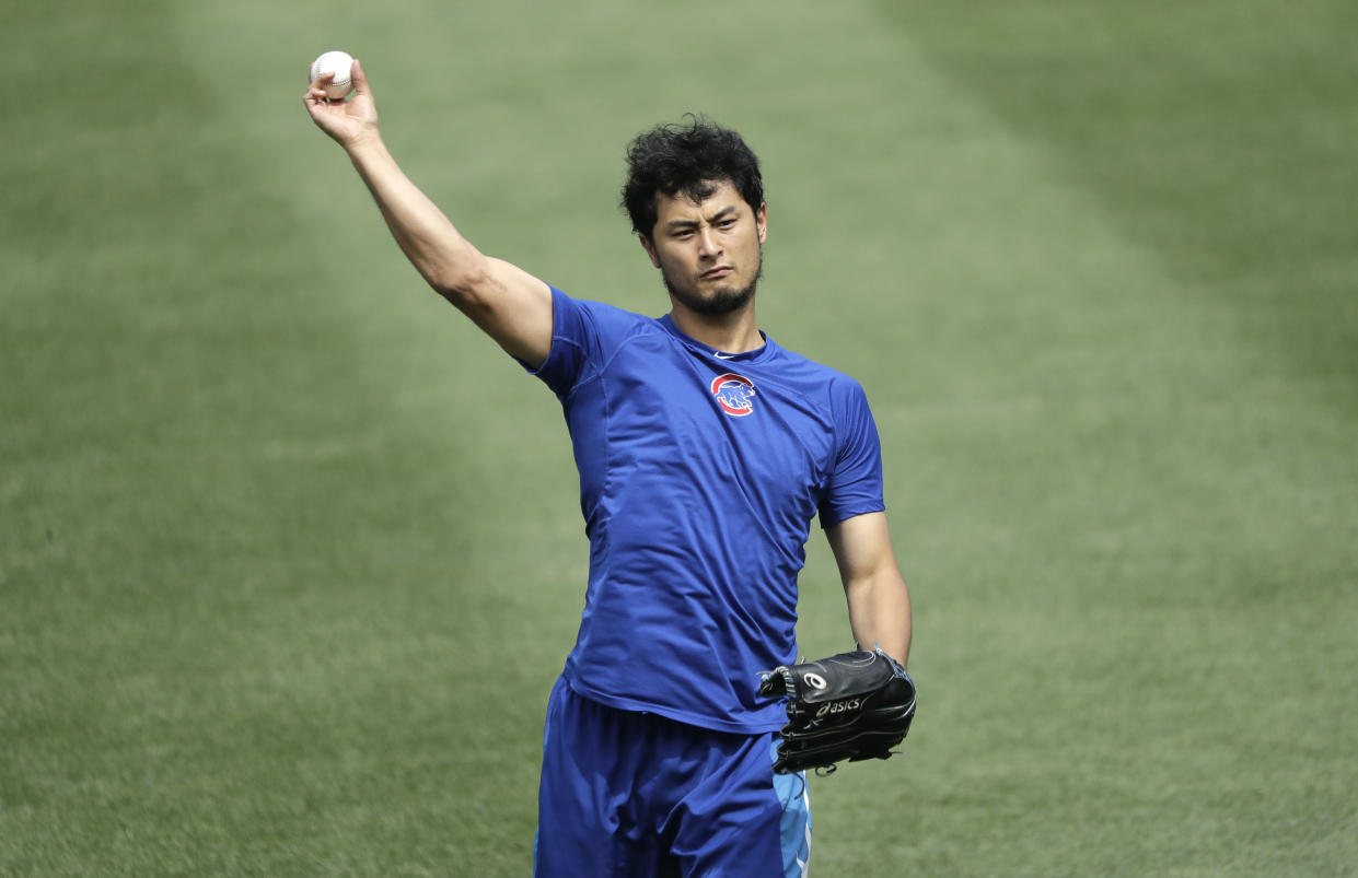 Yu Darvish will miss the rest of the 2018 season. (AP Photo)