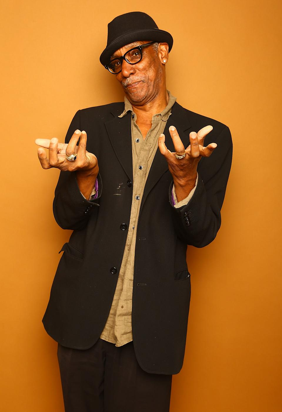 NEW YORK, NY - JUNE 21: Actor Thomas Jefferson Byrd poses for a portrait at the 2014 American Black Film Festival at the Metropolitan Pavillion on June 21, 2014 in New York City. (Photo by Astrid Stawiarz/Getty Images)