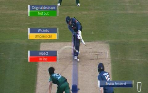 Root lbw review - Credit: Sky Sports