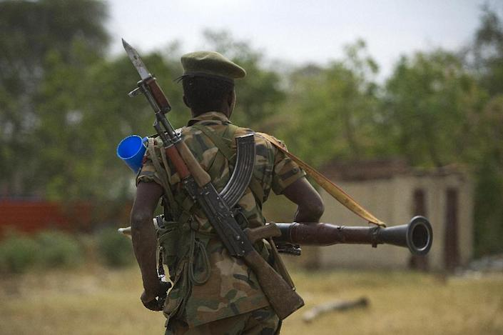 South Sudan was thrust into turmoil 18 months ago when President Salva Kiir accused former vice president Riek Machar of planning a coup, setting off a cycle of retaliatory killings that has split the country along ethnic and tribal lines (AFP Photo/Harrison Ngethi)