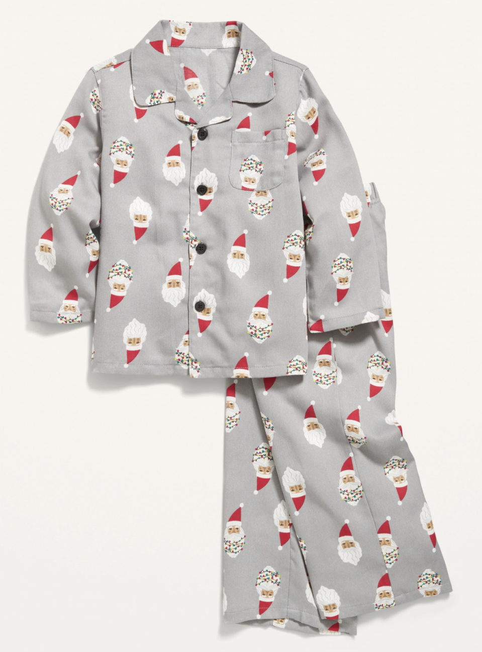 Unisex Holiday-Print Pajama Set for Toddler & Baby available at Old Navy,