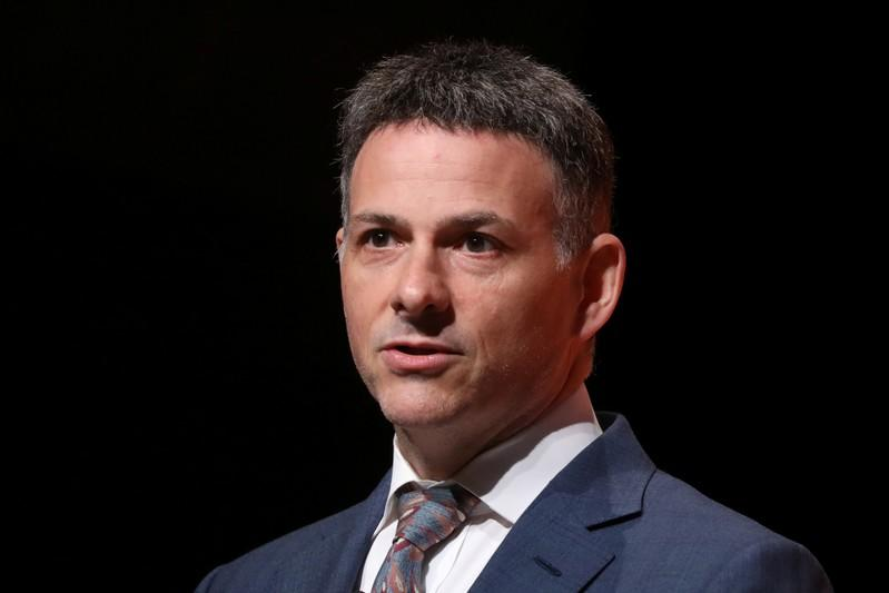 David Einhorn,ÊPresident, Greenlight Capital, Inc. speaks during the 2019 Sohn Investment Conference in New York
