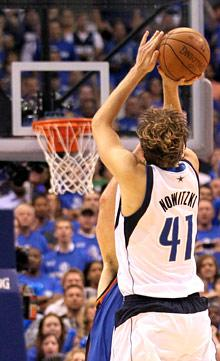 Nowitzki books return trip to NBA Finals