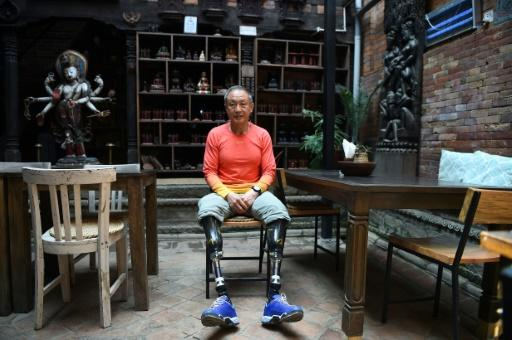 Chinese double amputee climber Xia Boyu has realised his dream