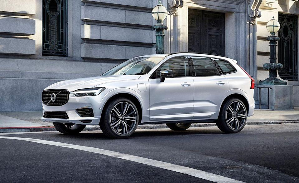 """<p>The <a href=""""https://www.caranddriver.com/volvo/xc60"""" rel=""""nofollow noopener"""" target=""""_blank"""" data-ylk=""""slk:XC60"""" class=""""link rapid-noclick-resp"""">XC60</a> and the XC60 Recharge plug-in hybrid are compact luxury crossovers with the likes of the <a href=""""https://www.caranddriver.com/porsche/macan"""" rel=""""nofollow noopener"""" target=""""_blank"""" data-ylk=""""slk:Porsche Macan"""" class=""""link rapid-noclick-resp"""">Porsche Macan</a>, the <a href=""""https://www.caranddriver.com/bmw/x3"""" rel=""""nofollow noopener"""" target=""""_blank"""" data-ylk=""""slk:BMW X3"""" class=""""link rapid-noclick-resp"""">BMW X3</a>, and the <a href=""""https://www.caranddriver.com/mercedes-benz/glc-class"""" rel=""""nofollow noopener"""" target=""""_blank"""" data-ylk=""""slk:Mercedes-Benz GLC-class"""" class=""""link rapid-noclick-resp"""">Mercedes-Benz GLC-class</a>. The XC60 was given a five-star rating by the NHTSA, and awarded a Top Safety Pick+ by the IIHS for scoring Good in all six of its crash tests. Its front-crash mitigation systems scored a Superior rating against vehicles, and an Advanced rating when avoiding pedestrians. Every XC60 uses the same LED reflector high- and low-beam headlights, which the XC60 scored an Acceptable rating for, after the IIHS noted low-beam glare, but adequate in all other areas. Standard safety features for X60 include automated emergency braking with pedestrian detection, lane-departure warning with lane-keeping assist, and adaptive cruise control with semi-autonomous driving mode. </p><p><a class=""""link rapid-noclick-resp"""" href=""""https://www.caranddriver.com/volvo/xc60"""" rel=""""nofollow noopener"""" target=""""_blank"""" data-ylk=""""slk:MORE XC60 INFO"""">MORE XC60 INFO</a></p>"""
