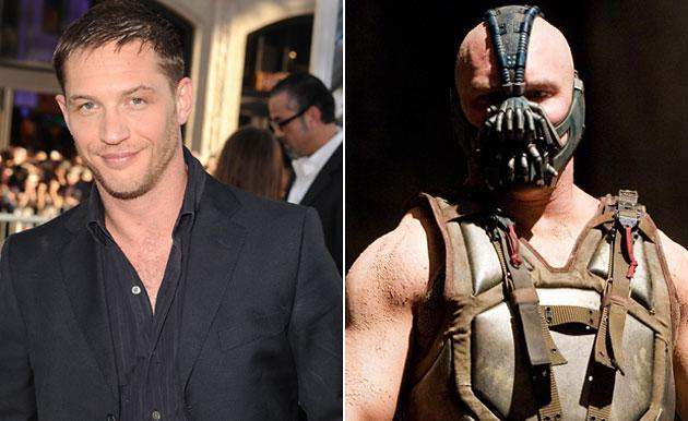 "Tom Hardy as Bane in ""The Dark Knight Rises"""