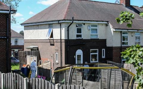 The murders happened at the family home in Sheffield home - Credit: SWNS