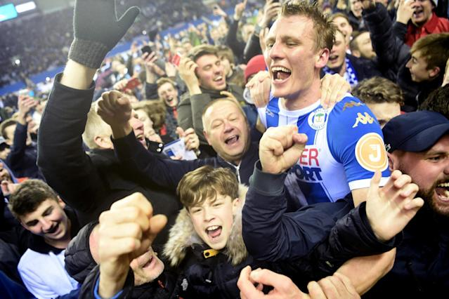 Dan Burn endures 'longest 10 minutes' of his life as Wigan hang on to dump Manchester City out of FA Cup