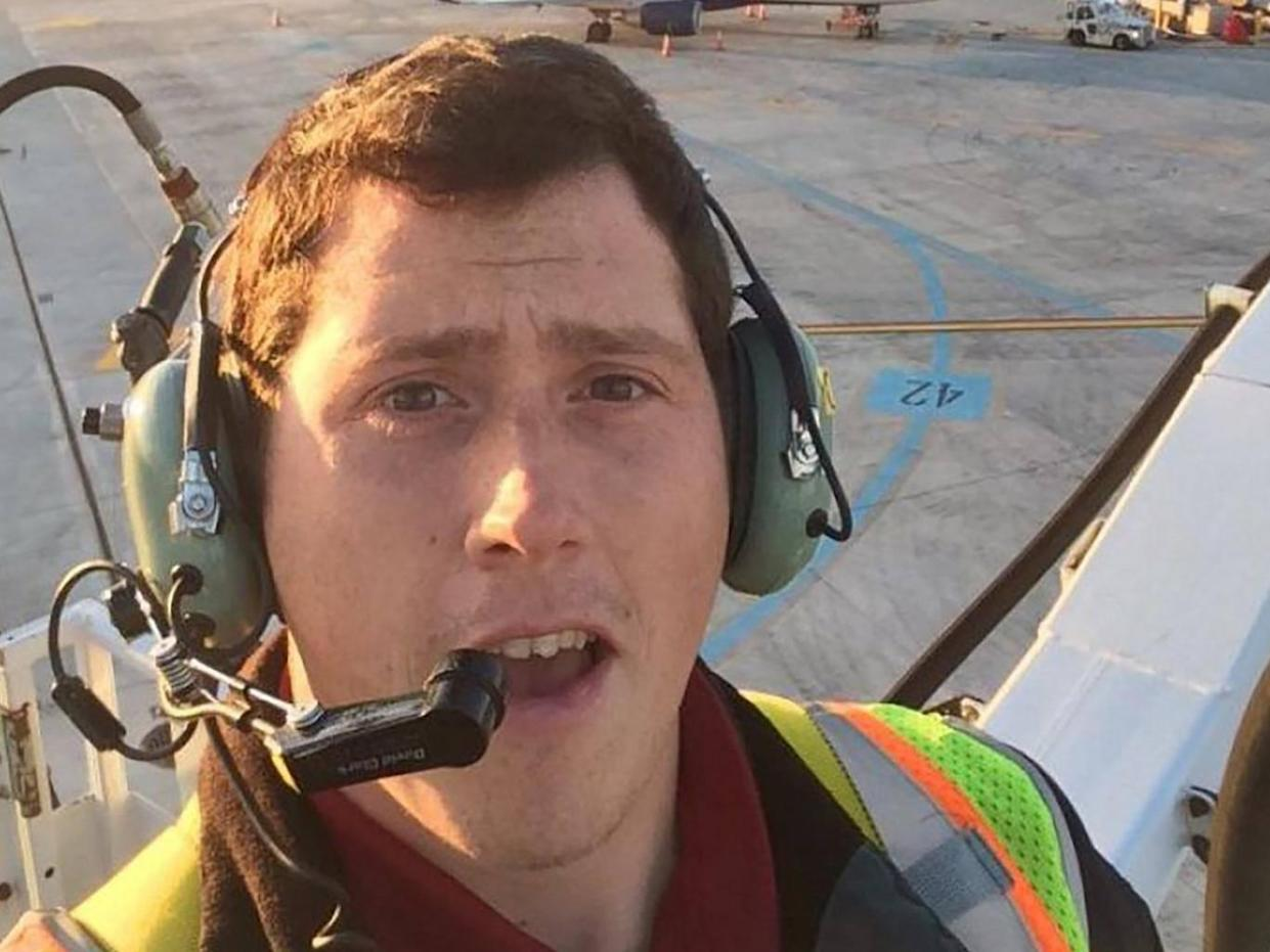 Richard Russell hijacked a plane from an airport in Seattle before crashing an hour later (AFP/Getty Images)