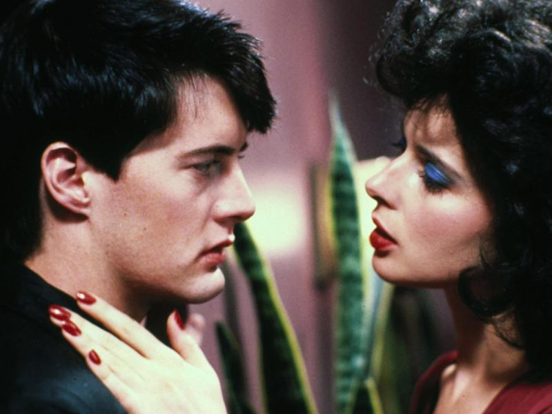 MacLachlan (Jeffrey) and Isabella Rossellini (Dorothy) in 'Blue Velvet'Rex