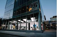 <p>Tesla debuted its newest showroom in the heart of the Meatpacking District in 2017. The 10,900-square-foot space offers an up-close-and-personal look at the automaker's electric vehicles.</p>