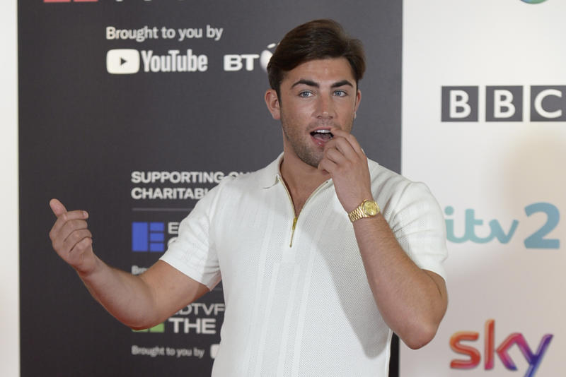 EDINBURGH, SCOTLAND - AUGUST 22: Winner of the hit TV show Love Island 2018, Jack Fincham, on the opening day of the Edinburgh International Television Festival, on August 22, 2018 in Edinburgh, Scotland. (Photo by Ken Jack - Corbis/Corbis via Getty Images,)