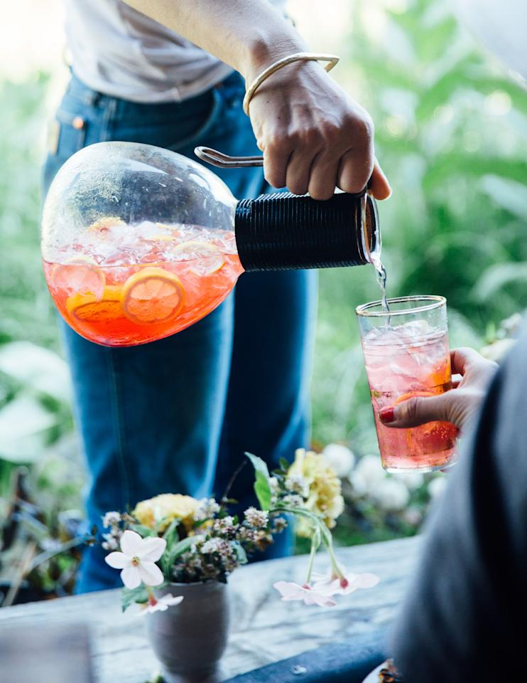 """Not a fan of blackberries? This cocktail recipe will be just as good with blueberries—or any other berry you like. <a href=""""https://www.bonappetit.com/recipe/blackberry-collins?mbid=synd_yahoo_rss"""">See recipe.</a>"""