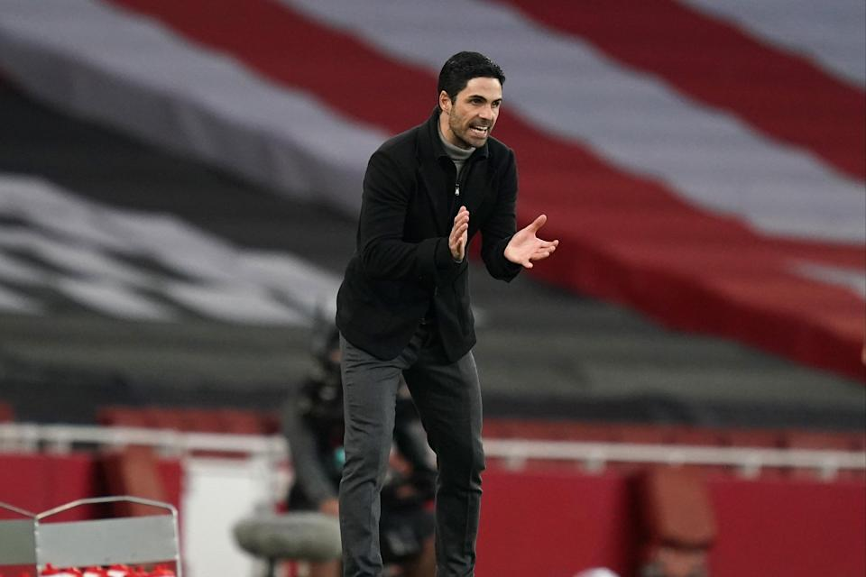 "<p>Arteta: ""I don't want to use one bit of excuse""</p> (Getty Images)"