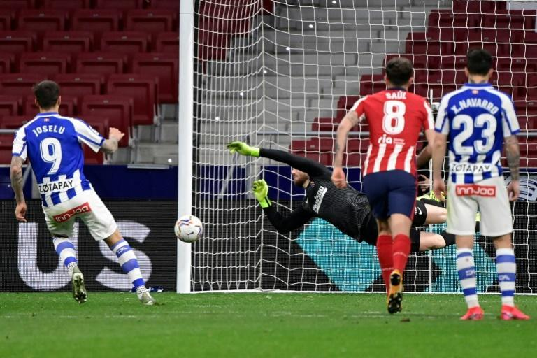 Jan Oblak preserved Atletico Madrid's 1-0 win over Alaves on Sunday with a late penalty save