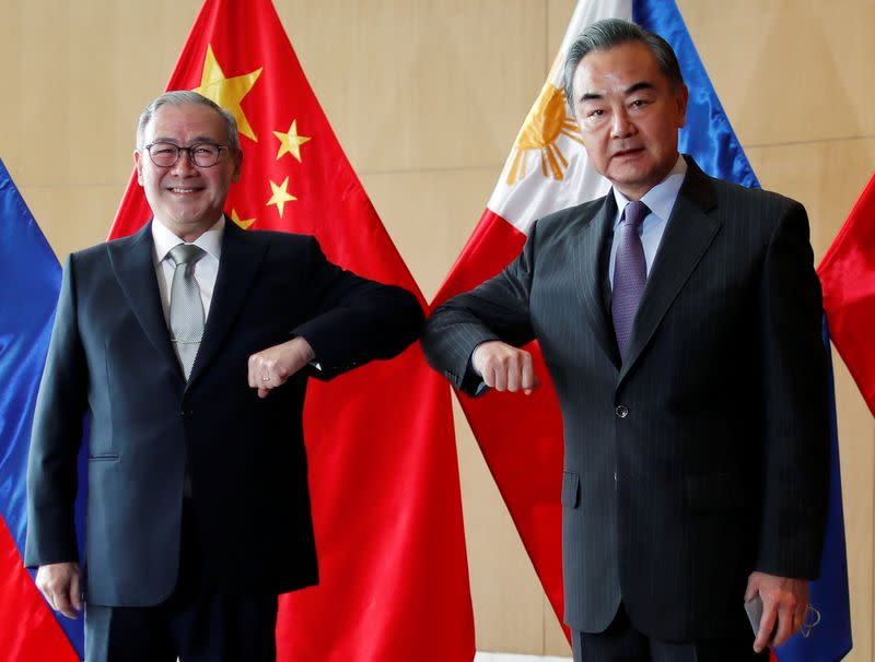 China's Foreign Minister Wang Yi visits Philippines
