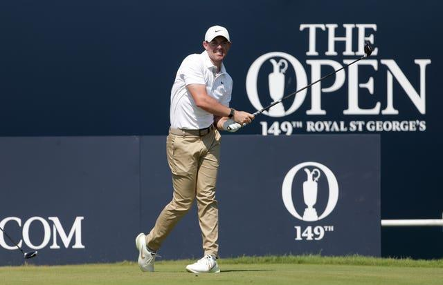 Rory McIlroy finished in a tie for 46th at The Open two weeks ago (David Davies/PA)