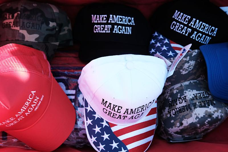 Donald Trump 'Make America Great Again' hats