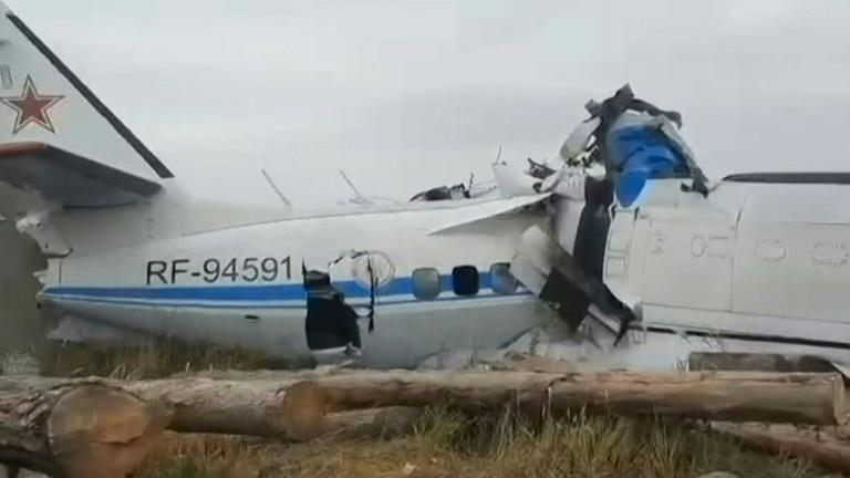 Wreckage of deadly plane crash found in Russia's Tatarstan