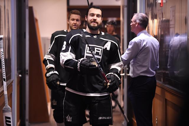 Drew Doughty has agreed to terms on his mega deal. (Getty)