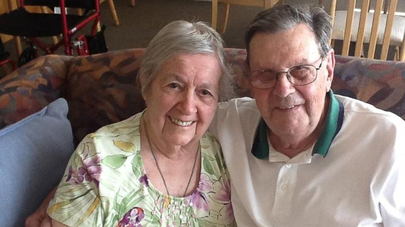 90-Year-Old Man Rescues Wheelchair-Bound Wife From Fire