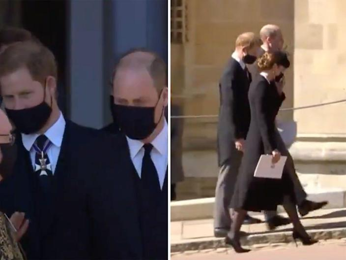 harry william talk after funeral lede