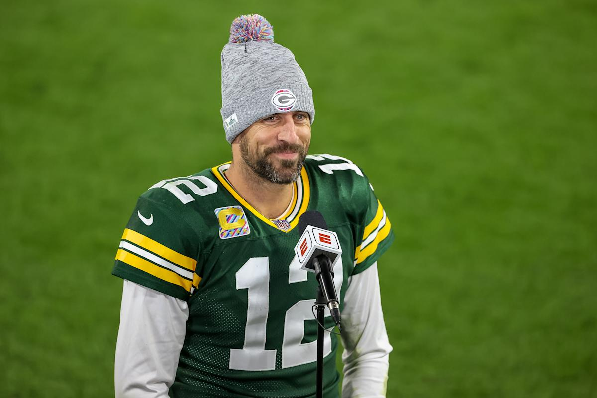 Aaron Rodgers destroys critics after hot start: 'Down years for me are career years for most quarterbacks'